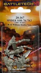 Spider SDR-7K/7K2 Variants (TRO Dark Ages)