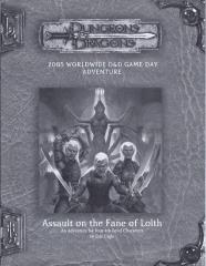 Assault on the Fane of Lolth