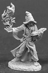 Domur Hunters Moon - Male Wizard w/Fire Spell