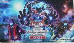 Playmat - World ChampionShip Qualifier 2016 - Phantom Knights