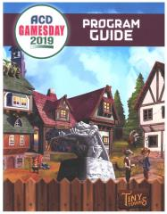 ACD Gamesday 2019 Program Guide