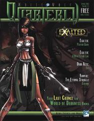 """#2.2 """"Exalted Players Guide, A New Fiction Line, Dark Ages - Fae"""""""