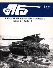 "Vol. 6, #8 ""Armored Convoys in Vietnam, Armor Models in Review, An Overview of British Tanks In the 1930s"""