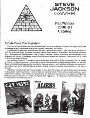 1990-91 Fall/Winter Catalog