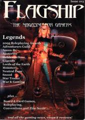 "#103 ""Legends, 2003 Roleplaying Awards, Adventurers Guild"""