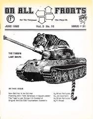 "#31 ""New Battles In An Old War, Planning Anti-Tank Defenses, The Tiger's Last Swipe"""