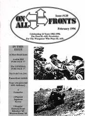 """#120 """"A Must Read Issue, Avalon Hill For Sale, Panzerfaust Article"""""""