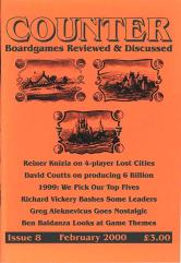 """#8 """"Reiner Knizia on 4-Player Lost Cities, David Coutts on Producing 6 Billion, 1999 Top Fives"""""""