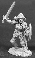 Brigette of the Blade w/Sword & Shield