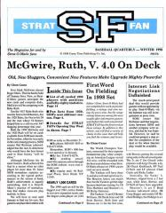"1998 Winter - Baseball Quarterly ""McGwire, Ruth, V. 40 On Deck"""