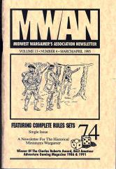 "#74 ""Modern Micro-Armor System, Rules for the ARW"""