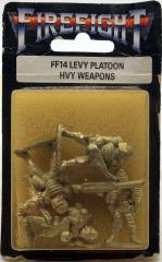 Levy Platoon Heavy Weapons