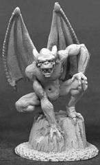 Gargoyle on Rock