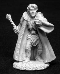 Elquin the Daring - Male Wizard w/Staff (02048)
