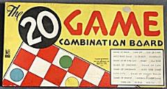 20 Game Combination Board