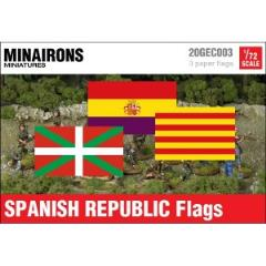Spanish Republic Institutional Flags