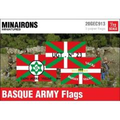 Basque Army Flags