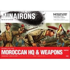 Moroccan Regulars HQ & Weapons