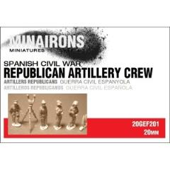 Republican Artillery Crew