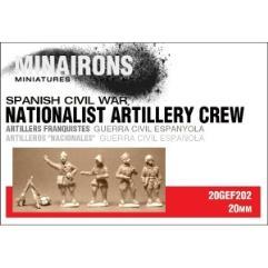 Nationalist Artillery Crew