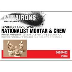 Nationalist Mortar & Crew
