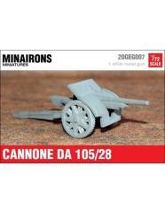 Ansaldo 105mm gun