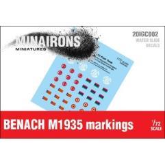 Benach M1935 Markings