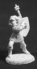 Christina the Devout - Female Human Cleric  w/Mace & Shield