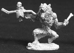 Zombie Werewolf w/Victim
