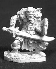 Orc Warrior of Kargir w/Sword and Shield