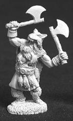 Olaf Kjordman - Viking Warrior w/2 Axes