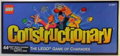 LEGO Constructionary Game