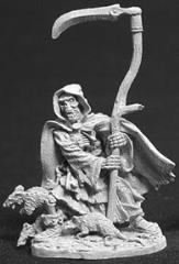 Grim Reaper w/Scythe & Rats