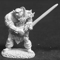 Black Orc w/2 Handed Sword