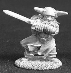 Brag Ironballs - Male Fighter w/2-Handed Sword (02376)