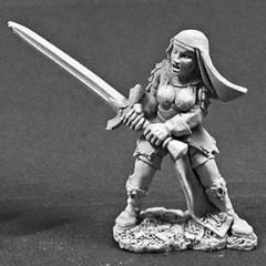 Sister Catherine - Battle Nun w/2-Handed Sword