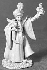 Aziz al-Jawar - Evil Sorcerer w/Skull