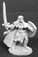 Ava - Female Knight Templar w/Sword & Shield