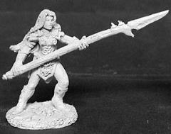 Vernicia - Female Warrior w/Pike