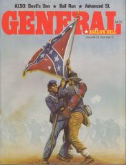 "Vol. 25, #5 ""Gettysburg '88 Expansion Map, Rail Baron Variant, Bull Run, Civil War"""