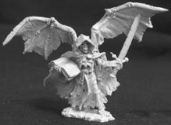 Angel of Death w/Wings Spread, Sword & Book