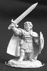Dobbin Sackville - Halfling Fighter w/Sword & Shield