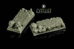 25mm x 50mm Hell (Square Base)