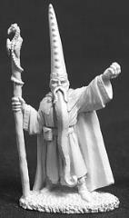 Darius the Blue - Male Wizard w/Staff (02578)