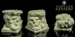 25mm Orc Ruins (Round Base)