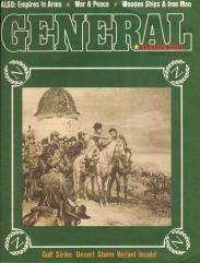 "Vol. 26, #6 ""Napoleon's Battles, Empires in Arms, Devil's Den, Gulf Strike/Desert Storm Variant & Map"""