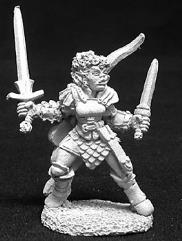 Janara - Female Half-Orc