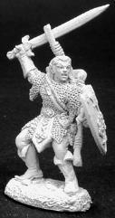 Ardanael - Male Fighter w/Sword & Shield