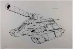 Technical Readout 2750 - Marksman Original Art