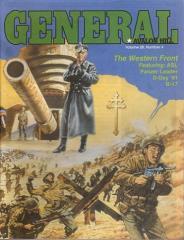 "Vol. 28, #4 ""The Western Front, B-17, Robin Hood, Adv. Civilization, SL Scenario"""